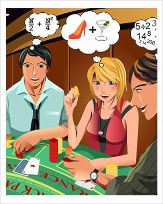 How to become rich gambling