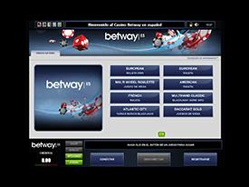 Betway Casino Flash